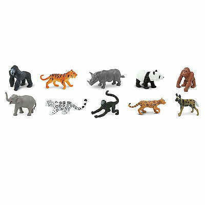 Endangered Species Land Animals Toob Mini Figures Safari Ltd NEW Toys](Safari Animals Toys)