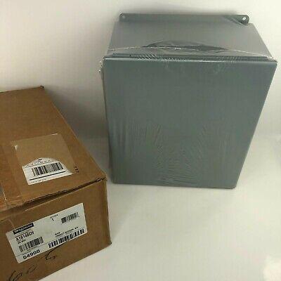New Hoffman Jic Junction Box Metal A16148ch In Original Box