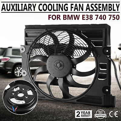 Get For BMW 7Series 740i 750i E38 740iL Condenser Cooling Fan Assembly Look ()