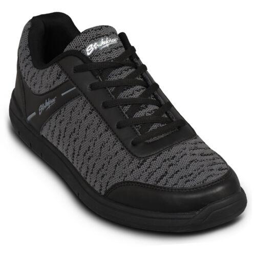KR Strikeforce Flyer Mesh Black/Steel WIDE WIDTH Mens Bowling Shoes