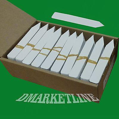4  X 5 8  Plastic Plant Labels Pot Tags Stakes Markers Nursery Etiquetas Usa
