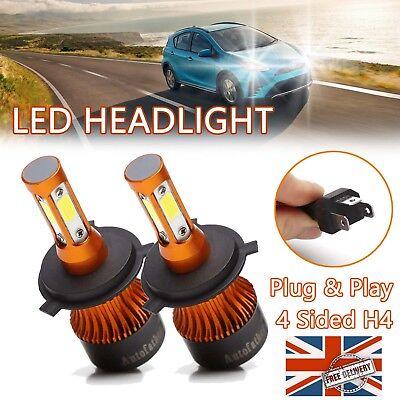 Cree LED Bulbs Headlight KIT H4 9003 High Low Beam 200W for Toyota ViosYaris