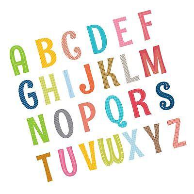 Decowall DA-1701A Uppercase Alphabet ABC Letter Kids Wall De