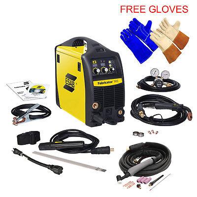 Esab Fabricator 141i Welding Machine W Tig Torch W4013802 Welding Tig Gloves