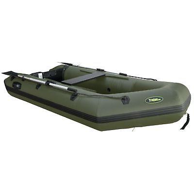 Schlauchboot 290cm Angelboot Gummiboot - 4 Mann mit Sitzbank und Motorspiegel