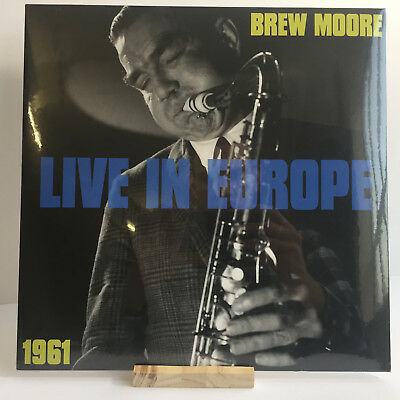 Brew Moore - Live In Europe 1961 | Sonorama | Vinyl LP | NEU OVP | Jazz