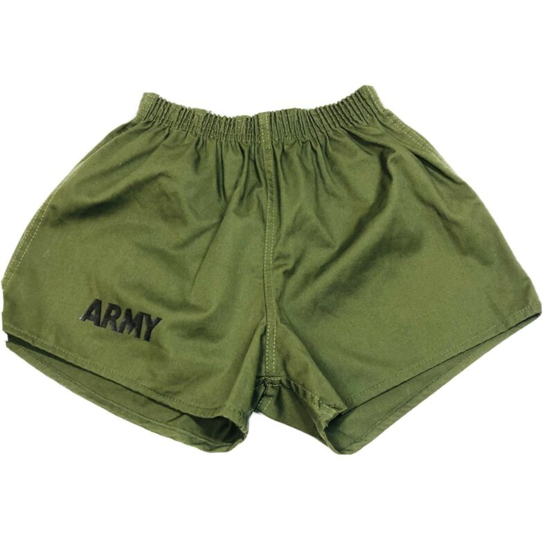 Vintage ARMY Thick Poly/Cotton High Rise Men