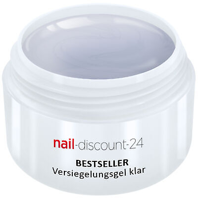 UV-Gel Versiegelungsgel klar 5ml Finish High Gloss Versiegler Hochglanz Nail Art