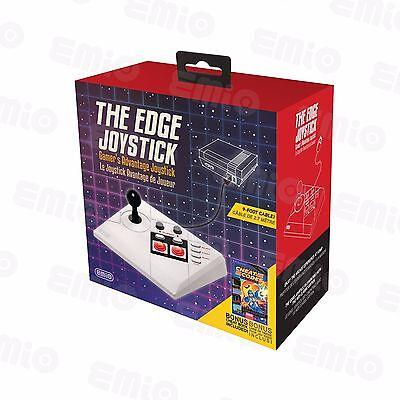 The Edge Joystick  Version 2    100  Compatible W Nes Classic W Cheat Codes Book
