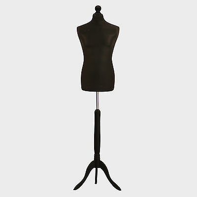 Kyпить Male Tailors Dummy Black Fashion Students Mannequin Window Display Bust на еВаy.соm
