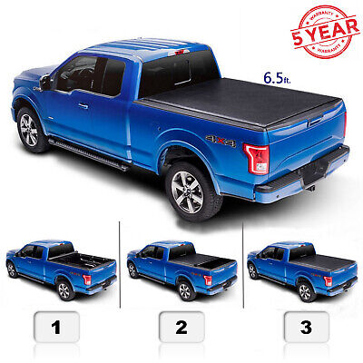 6.5 ft Roll Up Bed Cover For 19-20 Silverado 1500 2500 LT Pickup Truck
