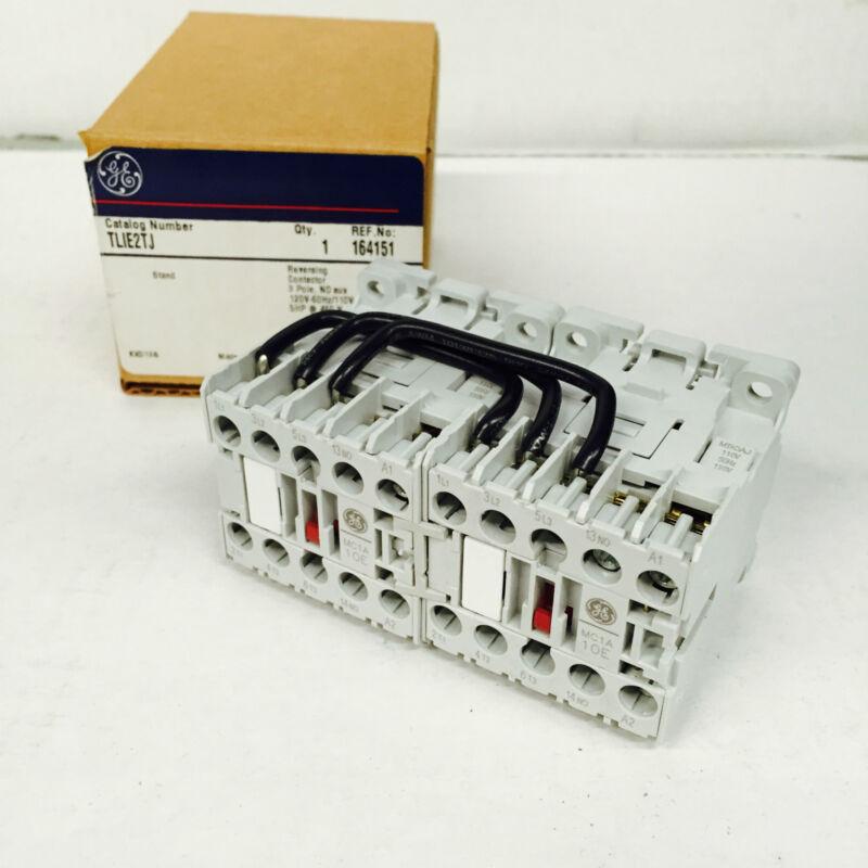 GE Industrial TLIE2TJ Reversing Contactor 3P Electric Motor Starter (NIB)