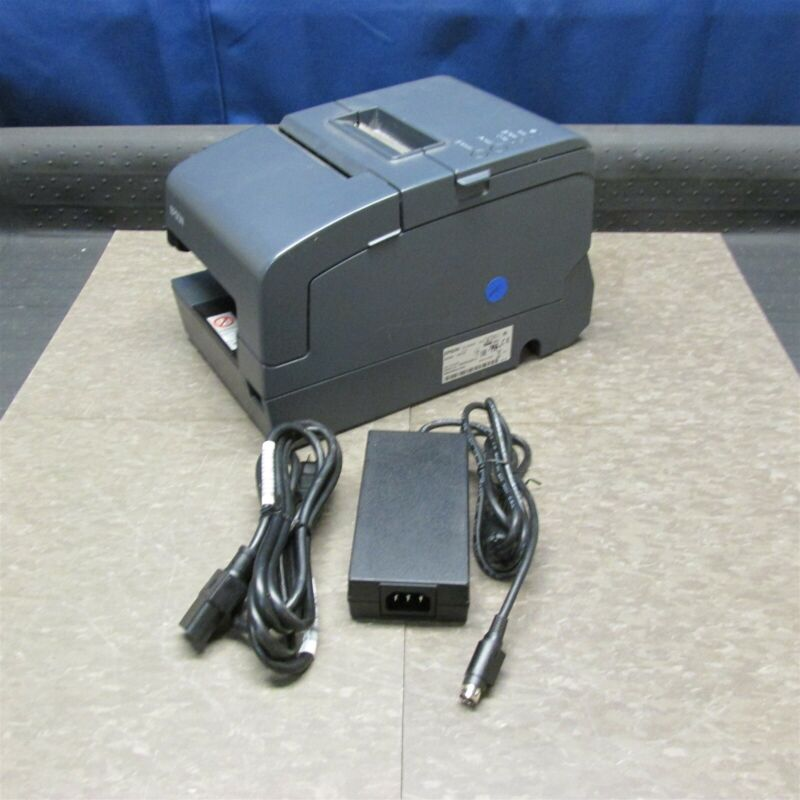 EPSON TM-H6000IV POS Thermal Receipt Printer M253A Power Plus + AC Adapter