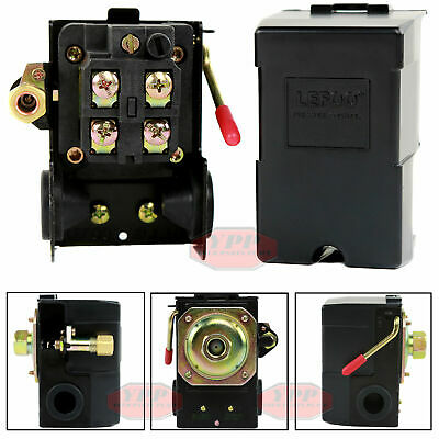 Air Compressor Pressure Switch Control Valve 95-125 Psi Single Port