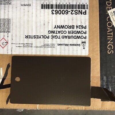 Sherwin Williams Browny Powder Coat Paint Black Bean - New 1lb Free Shipping