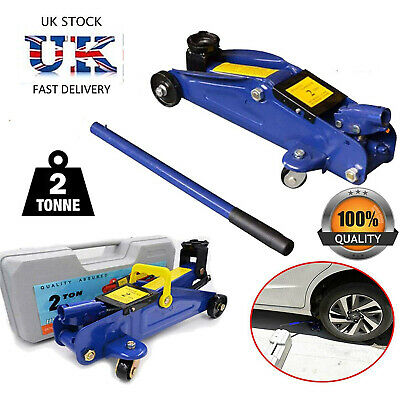 2 Ton 2T 2000kg Heavy Duty Car Van 4x4 Hydraulic Floor Trolley Jack in CASE