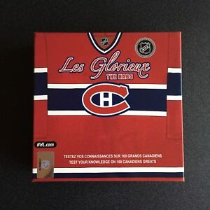 NHL Official Les Glorieux The Habs Bilingual Game