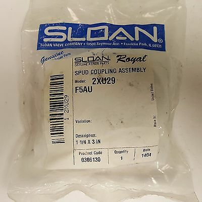 Sloan, Royal Flush Valves Spud Coupling Assembly 1¼