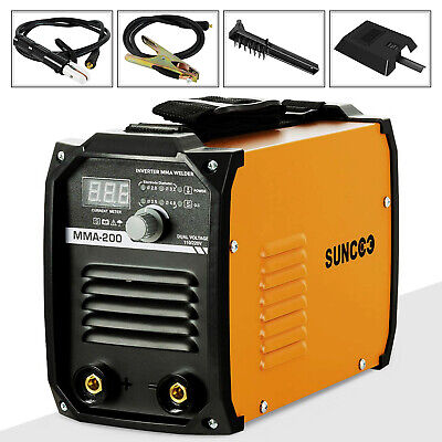 Mma 200a Arc Welding Machine 110v220v Portable Mini Stick Dc Inverter Welder