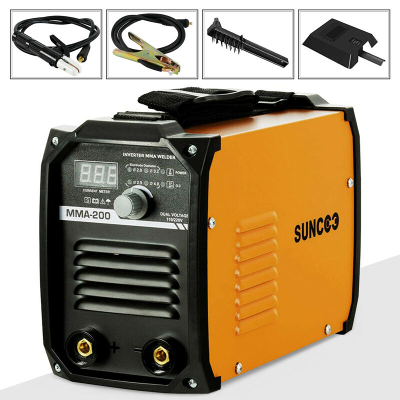 MMA 200A ARC Welding Machine 110V/220V Portable Mini Stick DC Inverter Welder