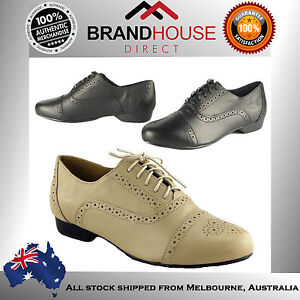 HUSH-PUPPIES-TOWNSEND-LADIES-WOMENS-SHOES-BROGUE-LACE-UPS-ON-EBAY-AUSTRALIA