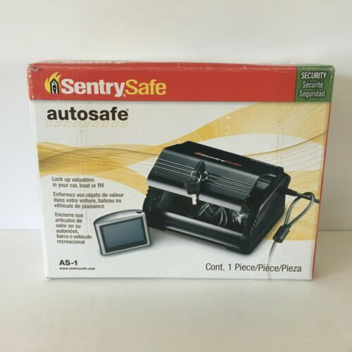 SentrySafe Auto Safe AS-1 New in Box
