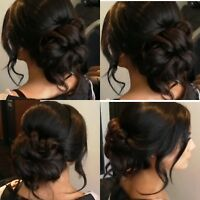 Bridal Hairstylist *Textured Updo's and Styling*