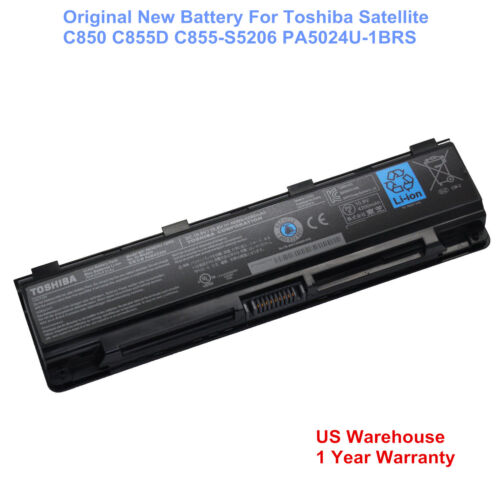 OEM Genuine PA5024U-1BRS Toshiba Satellite C850 Laptop Battery PABAS260 48WH
