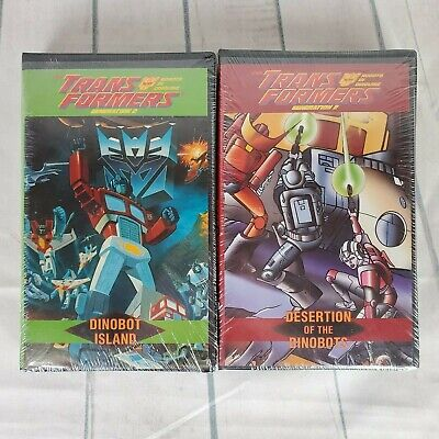 The Transformers Generation 2 VHS Movies Set of 2 New Old Stock 1990s Animation