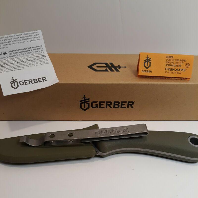 GERBER SPINE FIXED BLADE KNIFE. Sage Green.