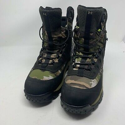 Under Armour Men's Brow Tine 2.0 800G Hunting Boots Camo/Black 3000293 900 Sz 9