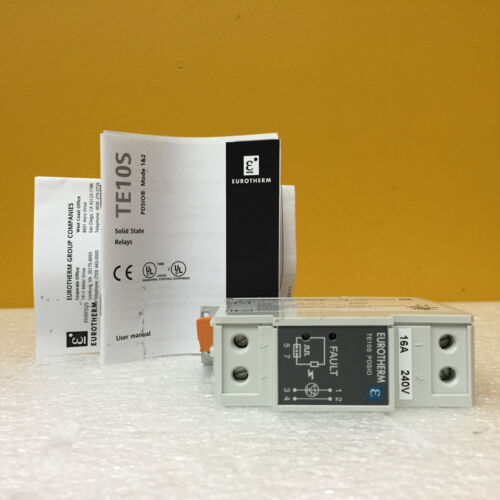 Eurotherm TE10s, 16A/240V, ENG, No Fuse,PDSIO Solid State Contactor, New in Box!