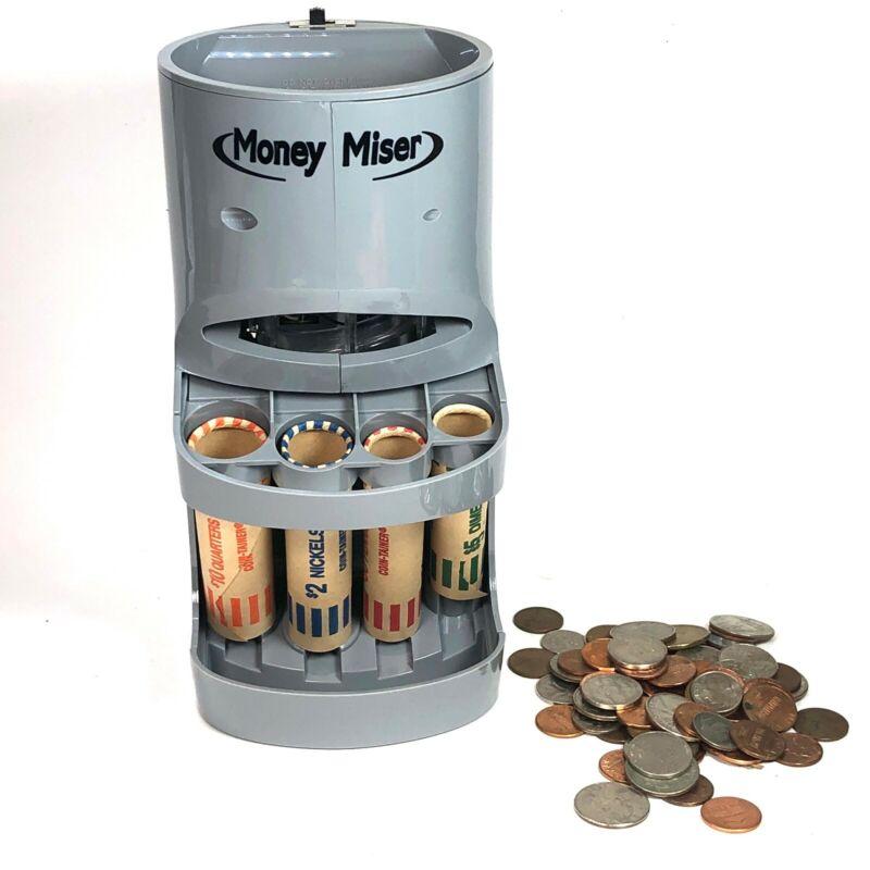 Money Miser Motorized Coin Bank Coin Sorter
