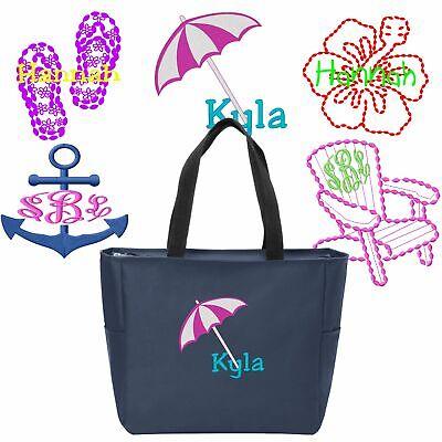 Personalized Flip-Flops/Beach/Hibiscus Flower/Anchor/Chair Custom Shoulder Bag](Custom Beach Chairs)