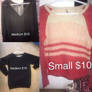 Clothing for sale!