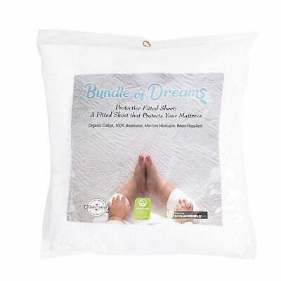 Bundle of Dreams Eco Air Hypoallergenic Organic Baby Crib Mattress Fitted Sheet