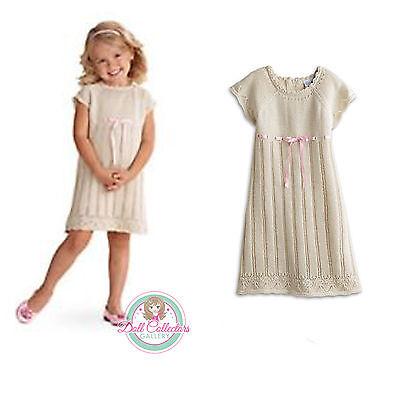 American Girl CL BITTY BABY FANCY SWEATER DRESS SIZE 3 SMALL for Little Girl - Fancy Dress For Little Girl