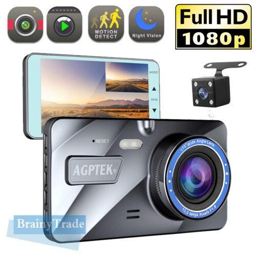 "4"" Vehicle 1080P Car Dashboard DVR Camera Video Recorder G-S"