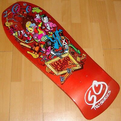 3b91c45054 SANTA CRUZ - Jeff Grosso - Toy Box - Skateboard Deck - Candy Metallic  Orange FP