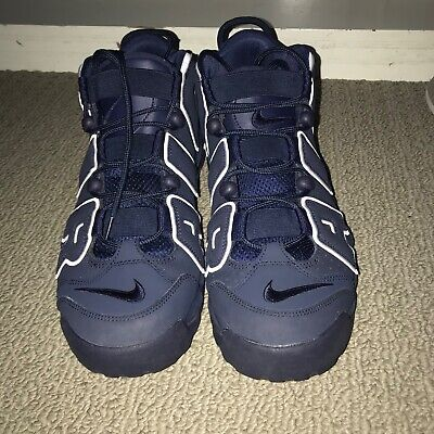 """Great Condition Nike Air Uptempo """"Obsidian"""" Size 11 Mens"""