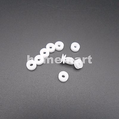10pcs 5.8mm Plastic Pulley Gear Model Motor Wheels Dia.5.8mm Shaft Dia.2mm 1.95m