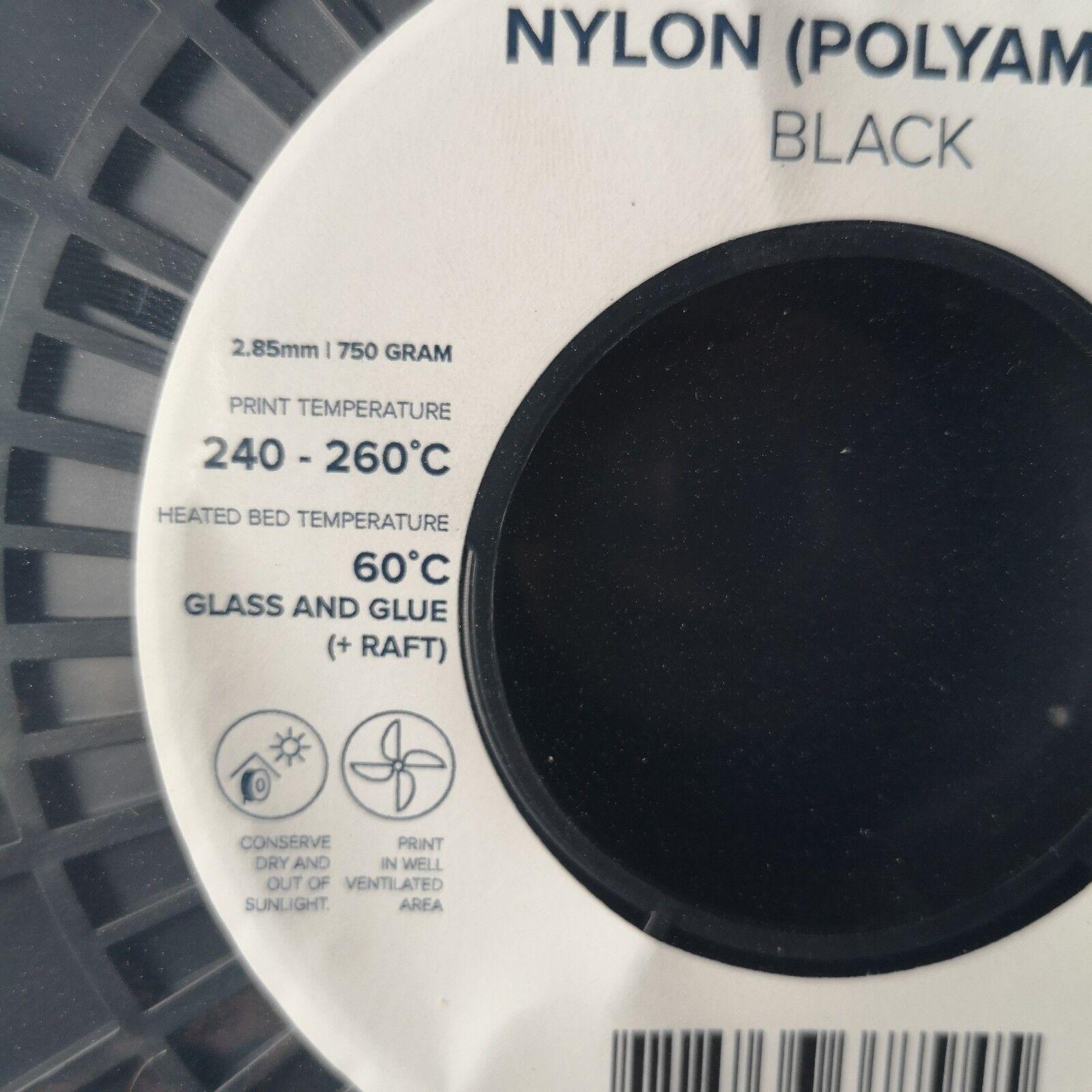 Ultimaker 3D Filament,schwarz,Monofil,Nylon(PA),  2,85 mm,Originalkarton, 9729