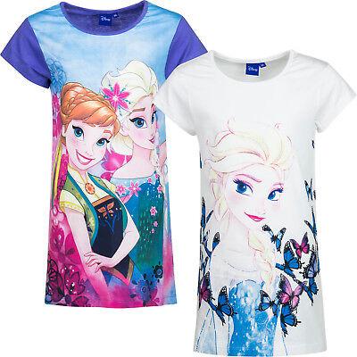 Die Eiskönigin Frozen Mädchen Nachthemd Disney 100%Baumwolle  104  110  116  128