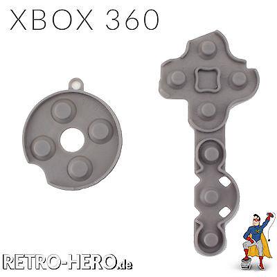 XBOX 360 Controller Tasten Gummi / Rubber Pad / Leitgummi / Kontakt Gummipads