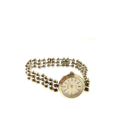 Armitron Ladies WAtch 25-4638-9C Beaded Band Silver tone