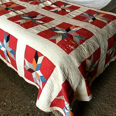 Handmade Bright Pastel Classic Child/'s Quilt 40 Pieced Border and Back 1930s Style Baby Quilt 30s Style Feedsack /& Novelty Quilt