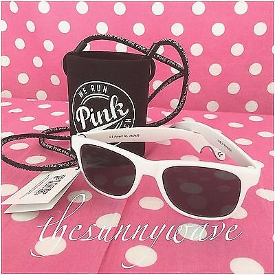 Victoria's Secret PINK Opener Sunglasses & Water Bottle/Can Koozie Beach - Pink Sunglasses Bulk
