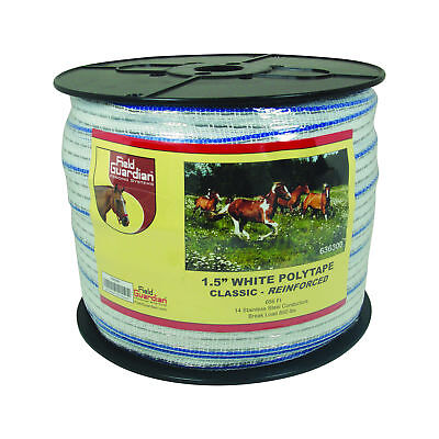 Field Guardian 1.5 White Polytape Classic Reinforced 636300 814421010247