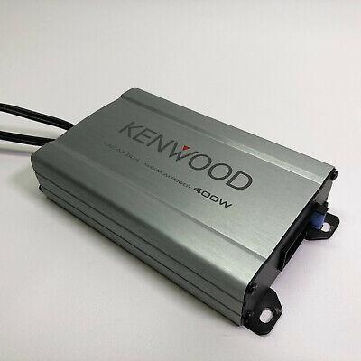 Kenwood KAC-M1804 Marine Class D 400W Compact 4-Channel Digital Amplifier