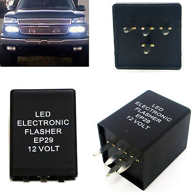 4-Pin EP29 EP29N LED Flasher Relay Fix For LED Turn Signal Lamps Hyper Flash